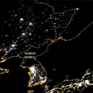 Genom satellitbilder kan man se att Nordkoreas jordbruk växer.