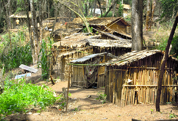 Huturebellernas läger i Kongo