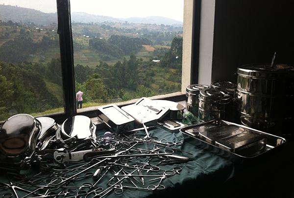Förlossningsavdelning i Butaro, Rwanda.