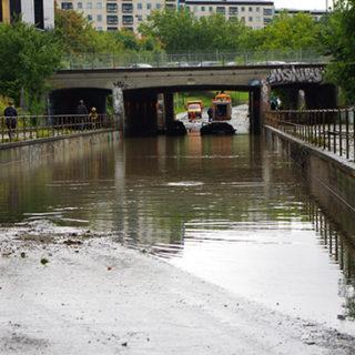 Översvämning i Köpenhamn, 2016
