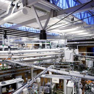 Max-lab är Sveriges enda synkrotronljus laboratorium.