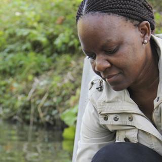 Lesedi Lebogang var tidigare doktorand på LTH, och forskar nu i hemlandet Botswana.