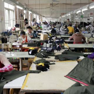 Textilarbetare i Indien